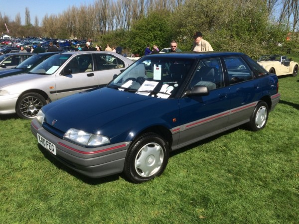 No such drama for Craig - his 214 ticked over 32,000 miles en route, and despite a slight exhaust blow performed impeccably. It was amazing how much attention this car got, being such an 'ordinary' model