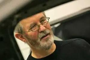 Former MGR styling boss Peter Stevens