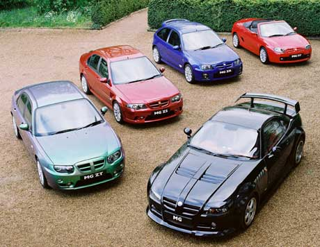 All of these cars were revised in 2004. None were at the 2005 Geneva Motor Show