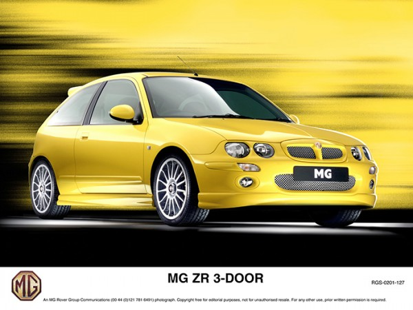 The ZR wasn't the pick of the Z-Cars, but it was definitely the one that caught on...it became the fastest selling MG ever