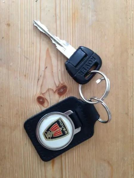 The Austin-Rover bendy key. Probably designed by a bloke.