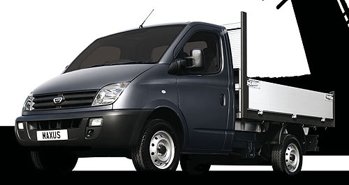 Australian customers can choose a chassis cab as well as a panel van