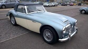 A stunning Healey 3000