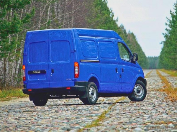 The original Maxus was launched in the UK in 2004