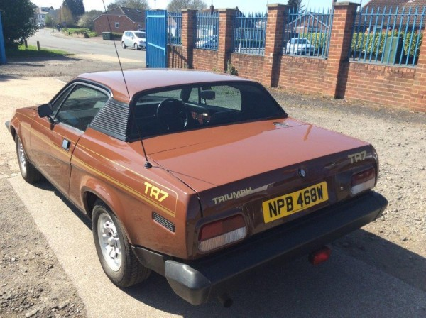Low mileage TR7 looks supremely original