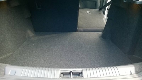 Plenty of space for passengers or parcels. Seats fold almost totally flat and the omission of a spare wheel adds extra secure storage.