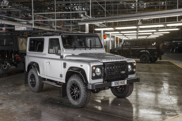 The two-millionth utility Land Rover, completed in May 2015