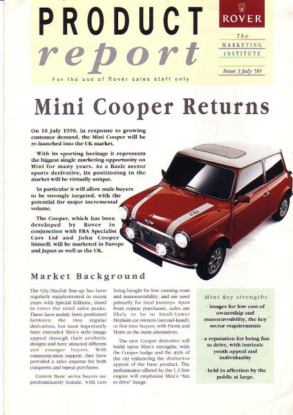 How Rover told its dealers about the RSP at launch