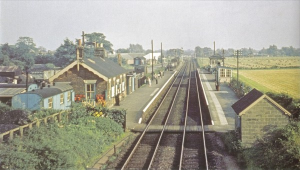 Stalham station September 1958