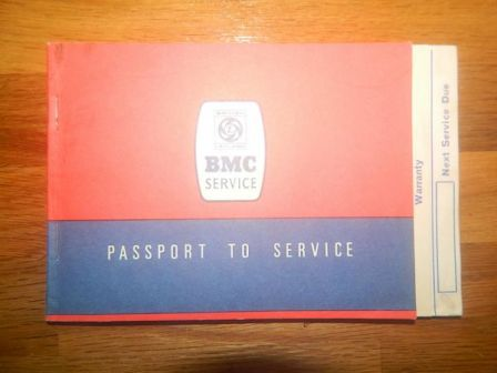 Original Passport to Service