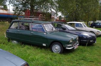 Citroen Ami 6 and C6