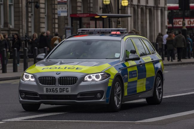Police BMW 5-series