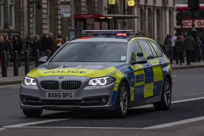 Police BMW 5-series