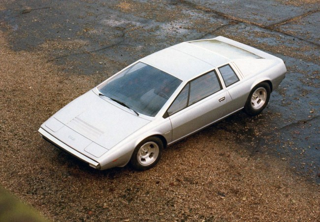 The original Lotus Esprit concept by Giugiaro was a product of its time - a definitive '70s supercar...