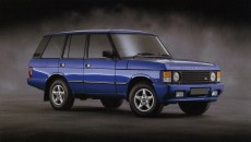 1993 Land Rover brochure - Range Rover 3.9 Autobiography - standard wheelbase - in Candy Apple Lamborghini Blue