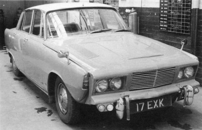 The Rover V8 engine put an end to the P7 programme