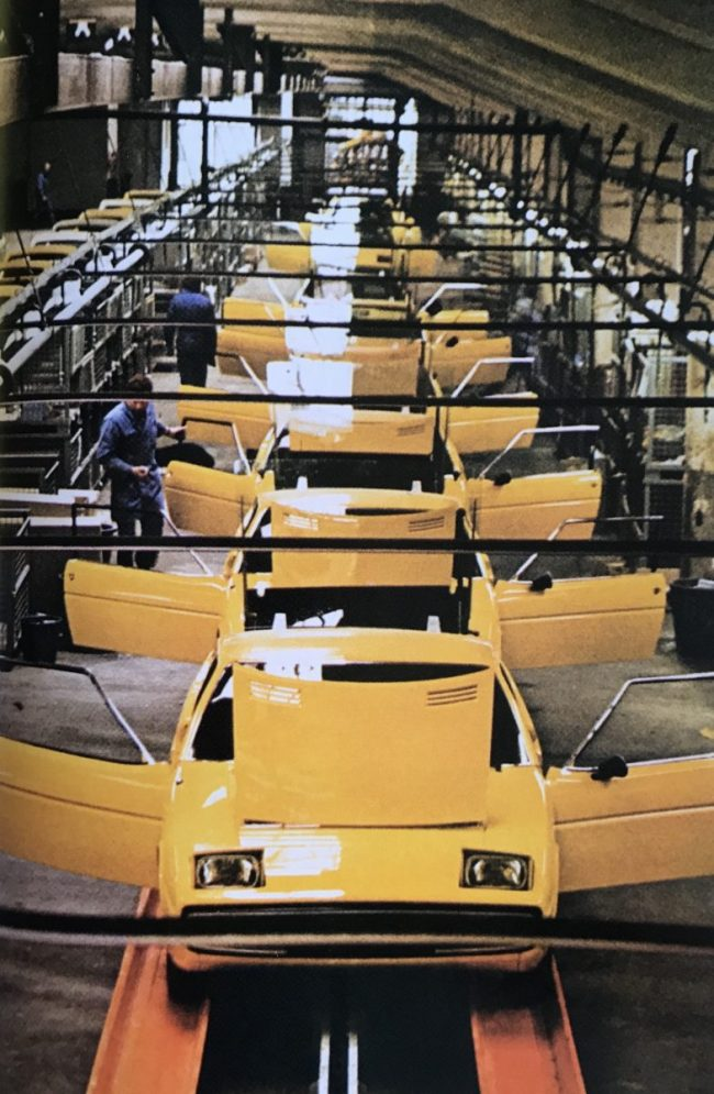 Production of the Matra-Simca Bagheera at full swing in Romorantin-Lenthenay.