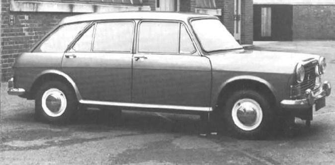 Morris Nomad prototype