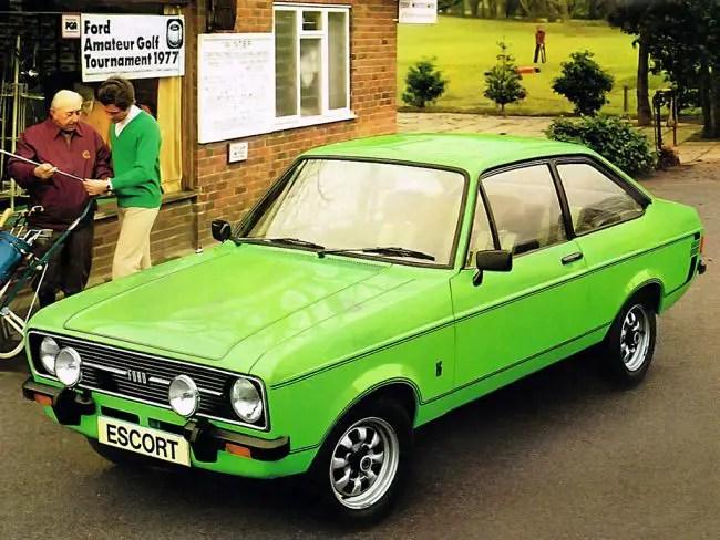 Image result for lime green 1.6 ford escort mk 2