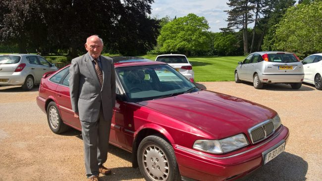 Harold Musgrove interview: The former ARG boss with Simon Weakley's Rover 800