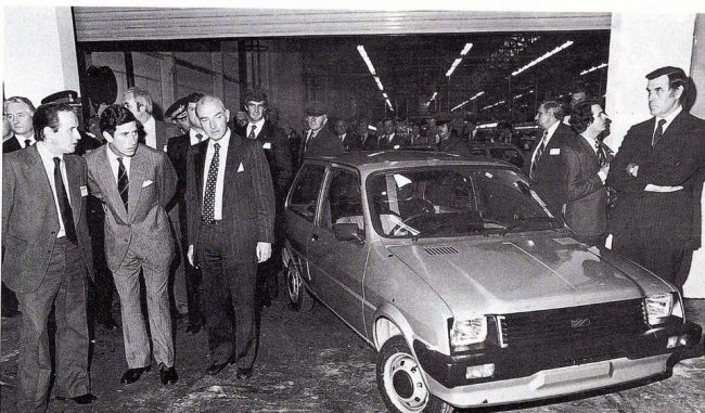 Harold Musgrove interview: Former ARG shows Prince Charles the new Austin mini Metro