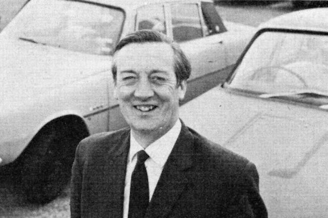 The Rover V8 engine did not immediately endear itself to Peter WIlks