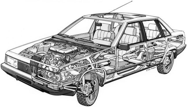 Talbot Tagora cutaway