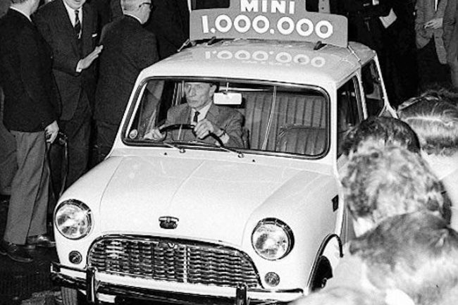 One millionth Mini rolls off the line