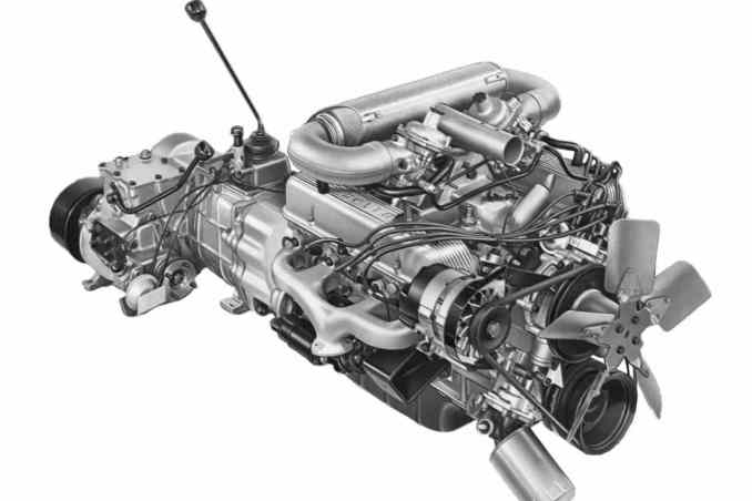 William Martin-Hurst finalises the purchase of the Rover V8 engine from General Motors.