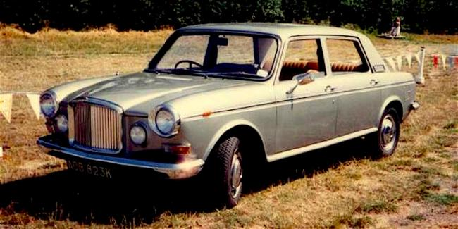 Austin Kimberley formed the basis of the Vanden Plas 1800 prototype.