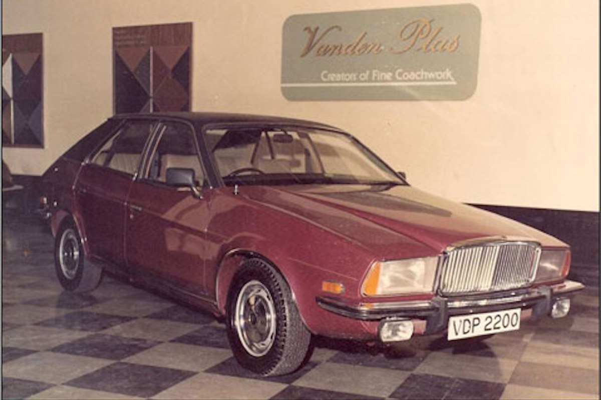 In-house designs : The Vanden Plas proposals