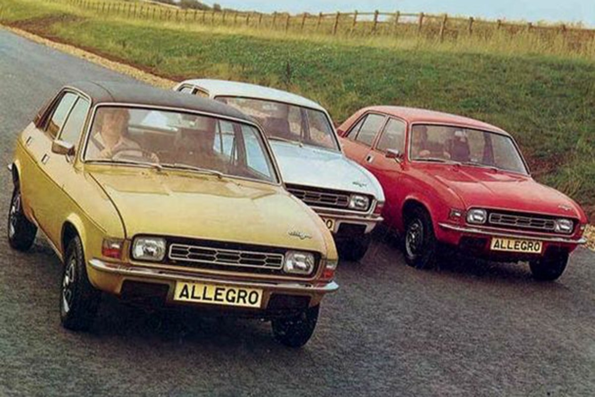The cars : Austin Allegro development story