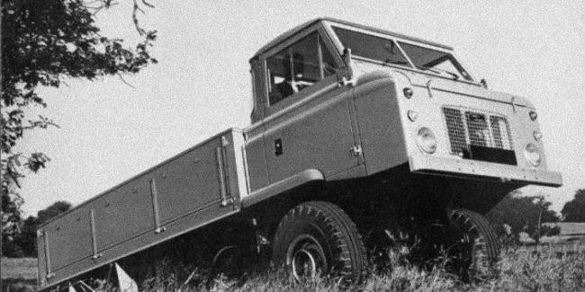 Rover-Triumph story 1962: Land Rover Forward control