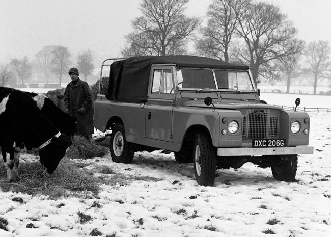 Rover-Triumph story 1961 - Land Rover Series IIa is launched