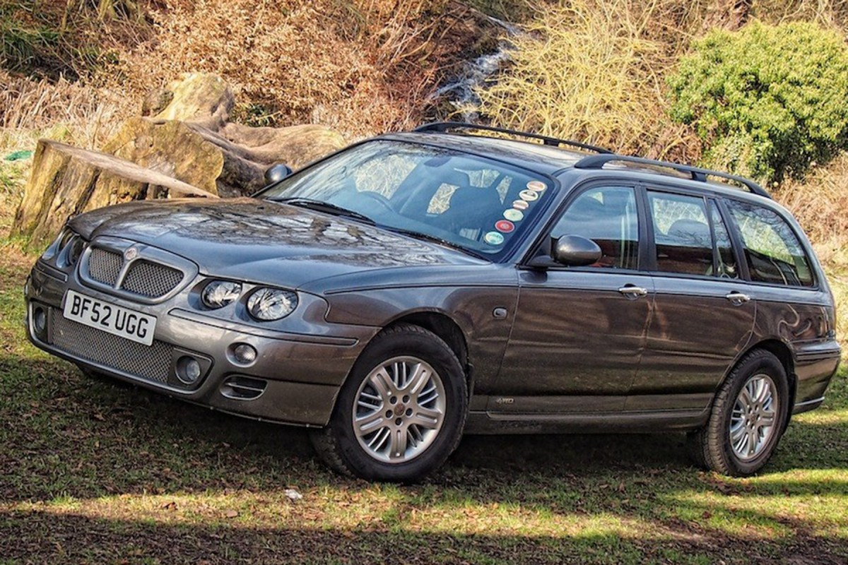 Concepts and prototypes : MG ZT-T 4WD - what might have been...