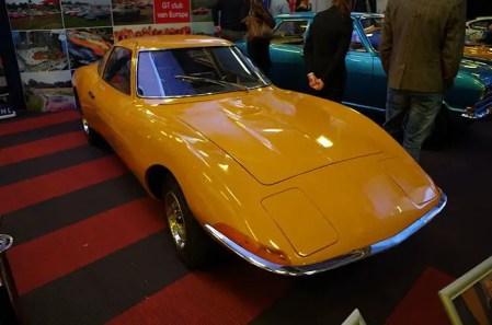 Opel GT styling study