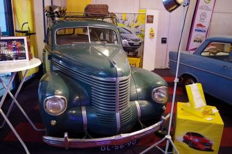 1939 Opel Kapitän, mostly original paint