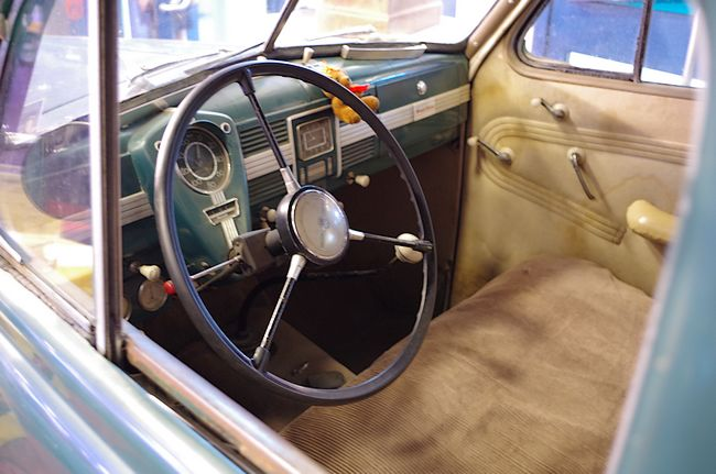 1939 Opel Kapitän, unrestored interior