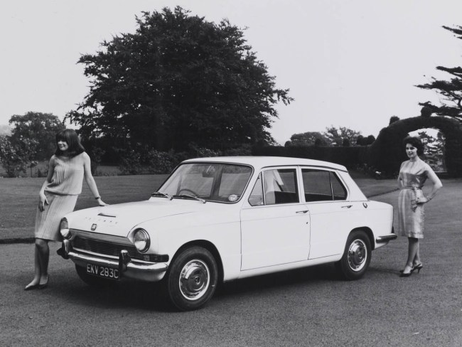 The Rover-Triumph story 1965: Triumph 1300 is launched in 1965.