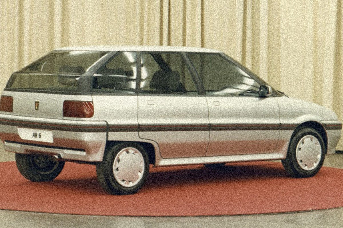 Concepts and prototypes : Austin AR6 (1983-1987)