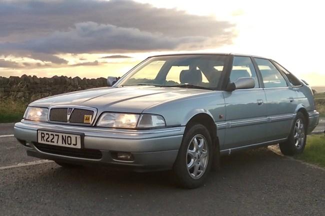 Chris Haining's Rover 800