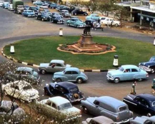 Image of Moffat Street, Salisbury Rhodesia 1957