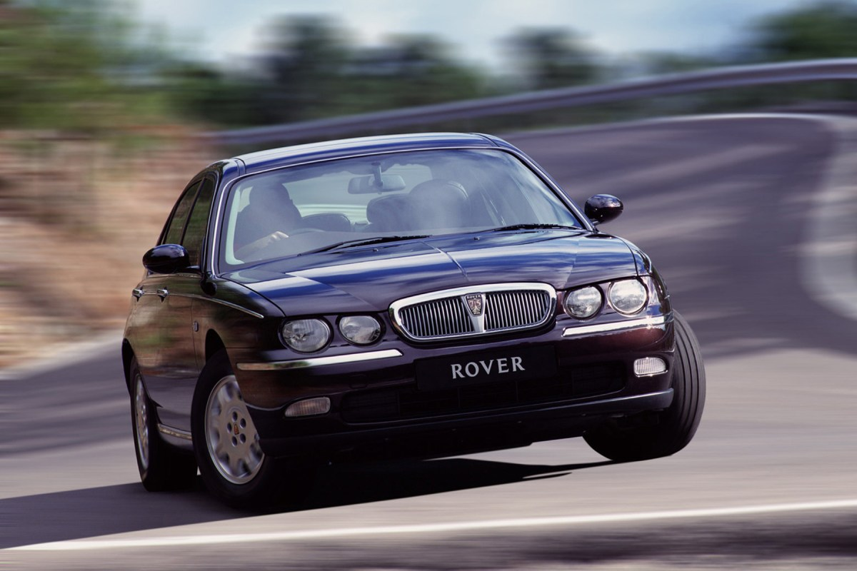 Blog : Raise a glass to... 20 years of the Rover 75