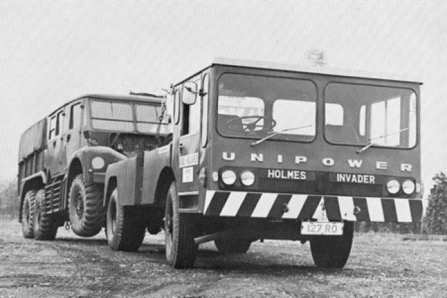 Unipower Invader 4X4 chassis with Holmes heavy recovery configuration.