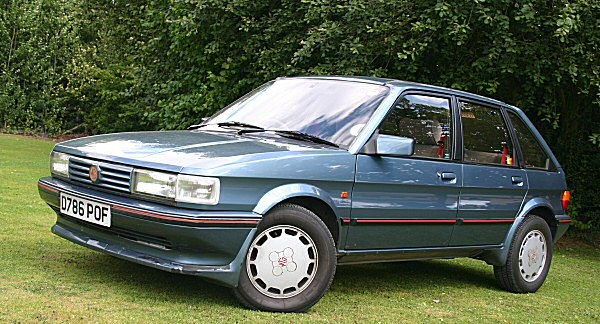 MG Maestro Turbo prototype