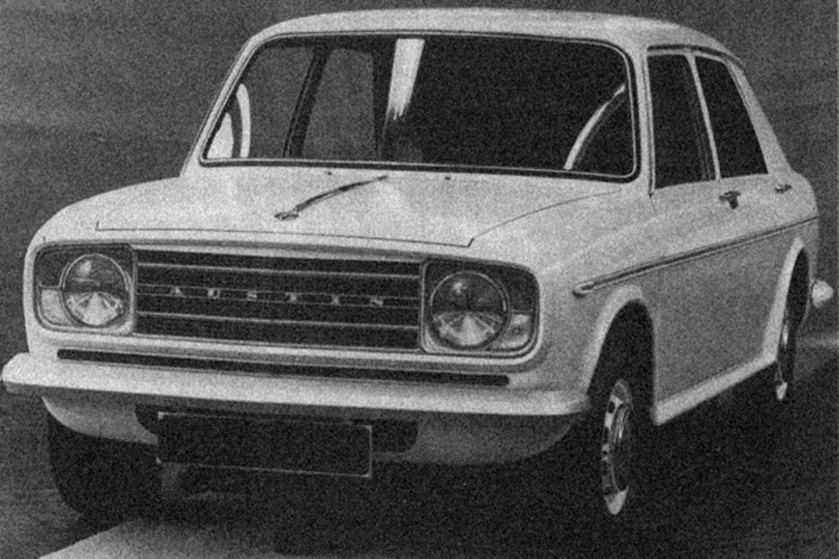 Concepts and prototypes : Austin ADO22 (1966-1968)