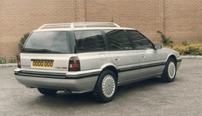 AR17 estate - or Rover 420 - looked potentially cavernous...