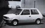 Bertone's proposed Mini 750 was styled by Marcello Gandini.