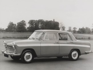 The Austin A60 - not as neat as the A55, but still a looker