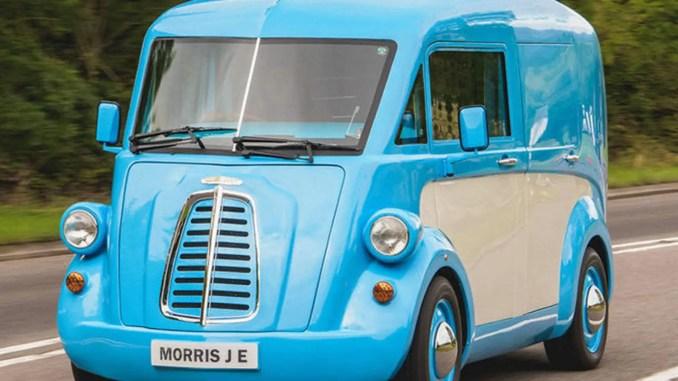 Morris JE electric van